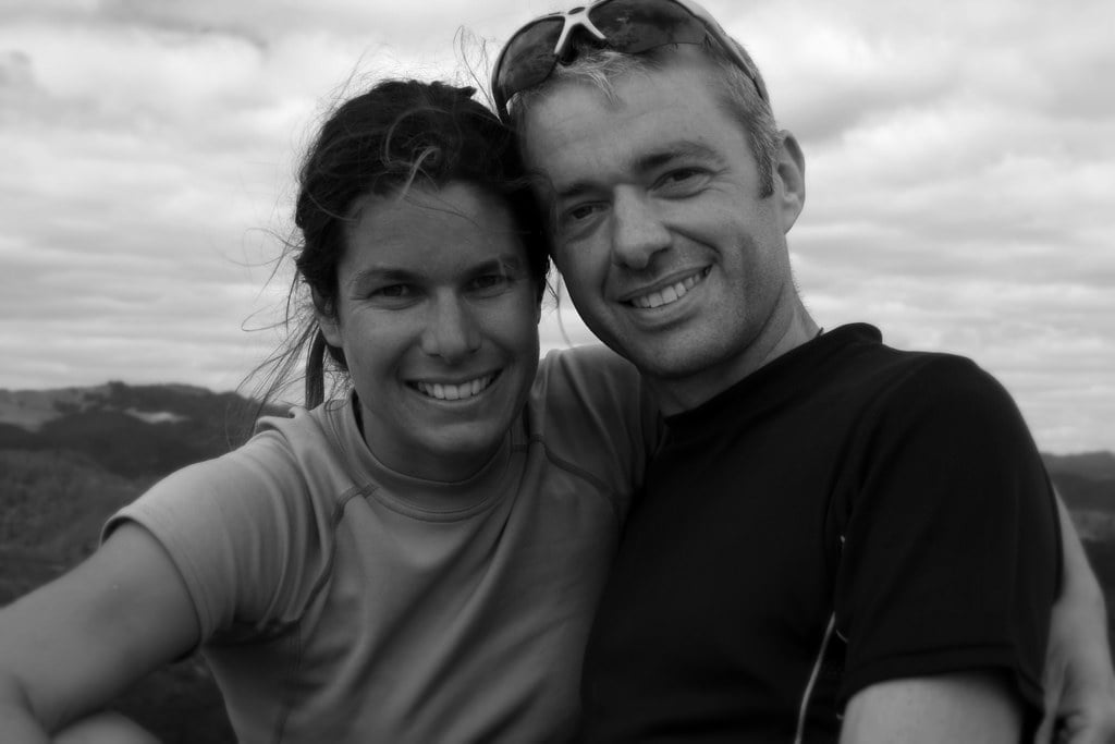 The heart of Water Nomads - Heidi and Bevan